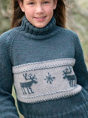 FREE Moose Sweater pattern. Love this!! | Sweaters | Pinterest ...