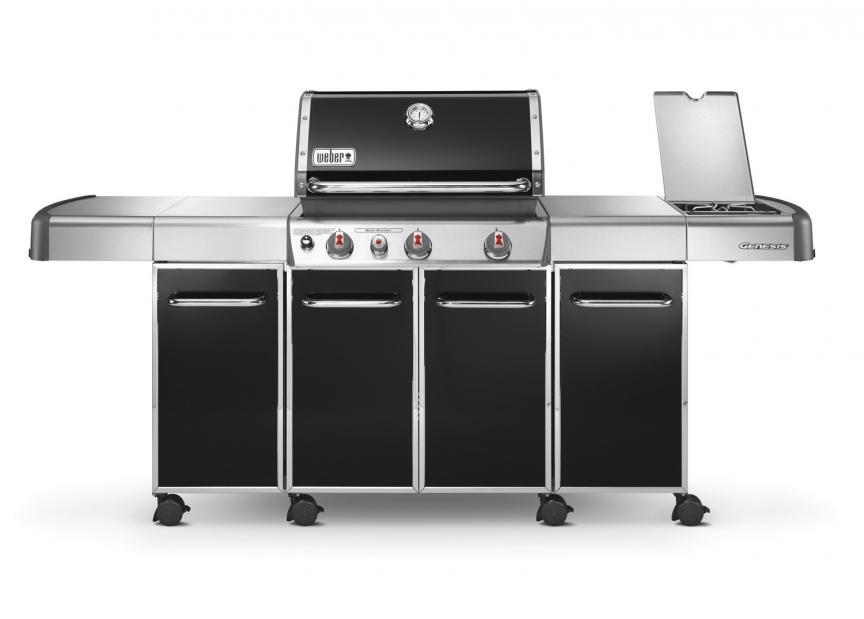 Weber Outdoor Küche Rezept : Weber gas bbq genesis grill nave e330 black gas bbq by weber