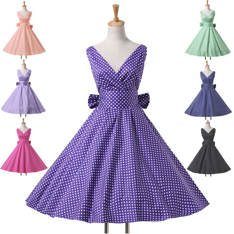 Vintage housewife victorian swing us retro pinup rockabilly prom
