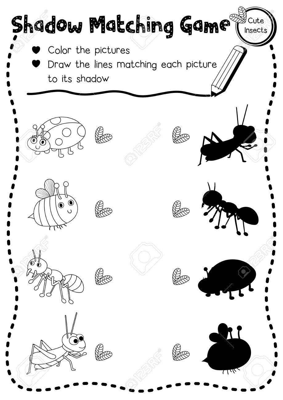 Insects Worksheets For Kindergarten Worksheet Lunch Ideas For Kindergartener Ind In 2020 Kindergarten Worksheets Kindergarten Worksheets Printable Preschool Worksheets