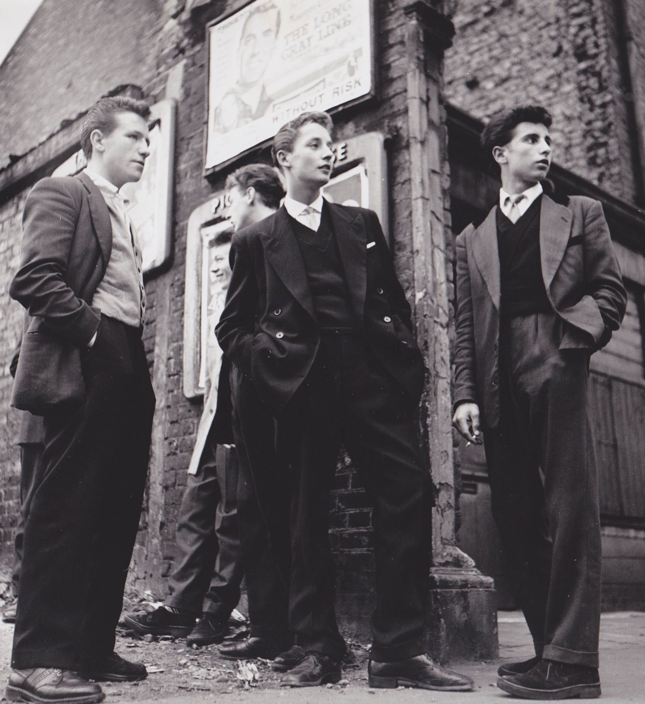 the edwardian teddy boy welcome and introduction sf