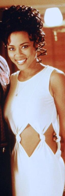 Lela rochon's white dress in waiting to exhale. I love it ...