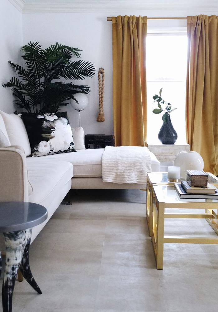 Holiday Home Tour Blog Hop New Living Room Home Decor Modern