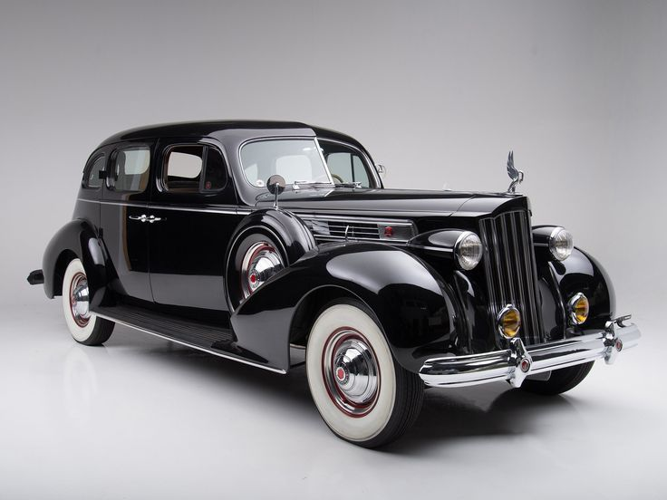 "doyoulikevintage: ""1939 Packard Super Eight Touring Sedan """