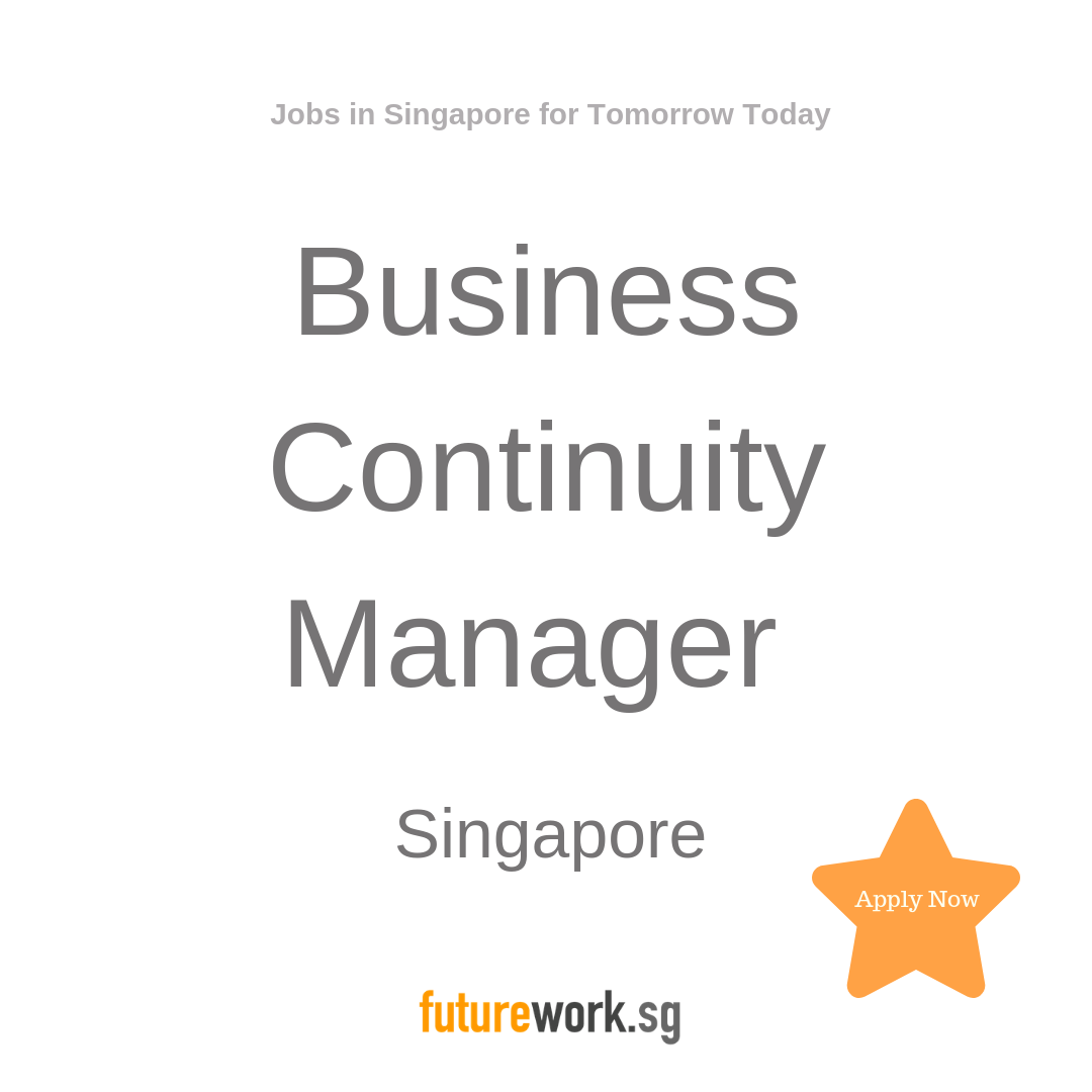Business Continuity Manager Ensure that aspects of