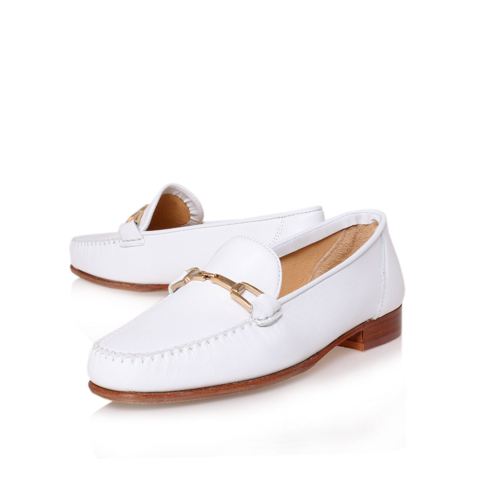 2016 Hot Sale Carvela Lychee Slip On Shoes Women Silver AJHS61