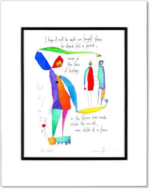 One Child Storypeople Print By Brian Andreas Story People Brian