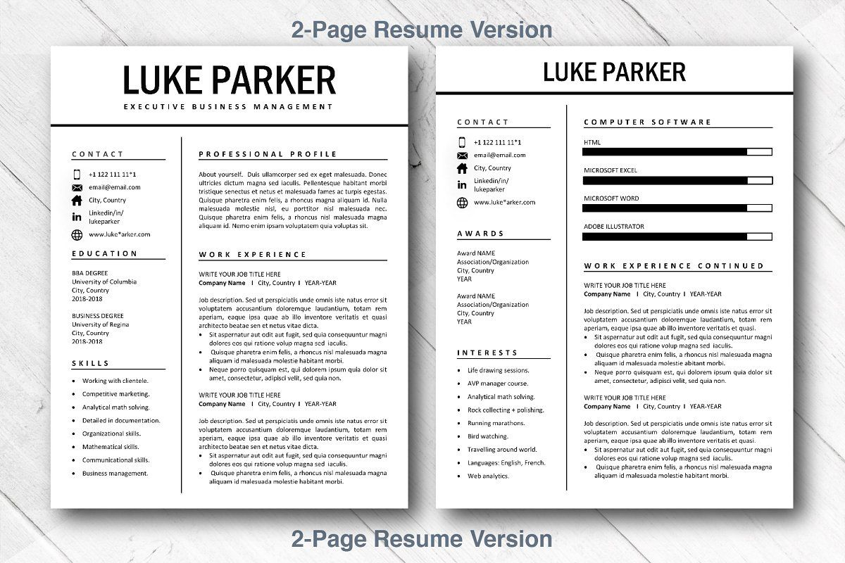 Cv Resume Template Word Cover Letter Aff Options Www Theartofresume Art Ad Resume Template Word Cv Resume Template Resume Template