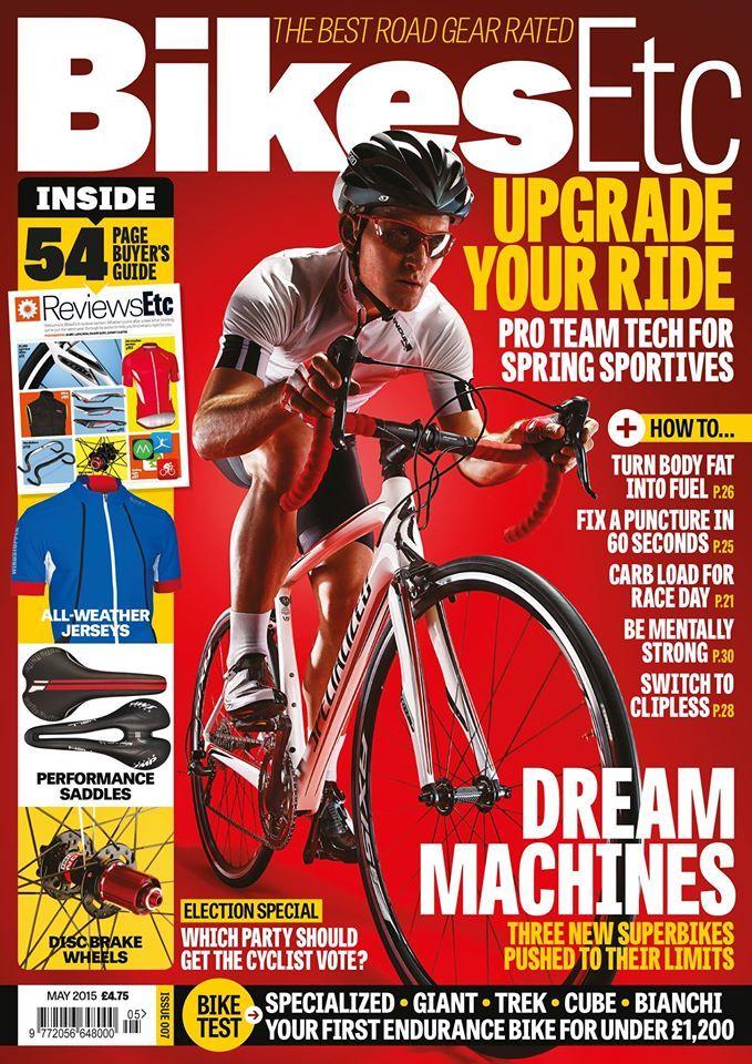 Bikesetc Magazine Cover May 2015 Uk Cycling Road Bike