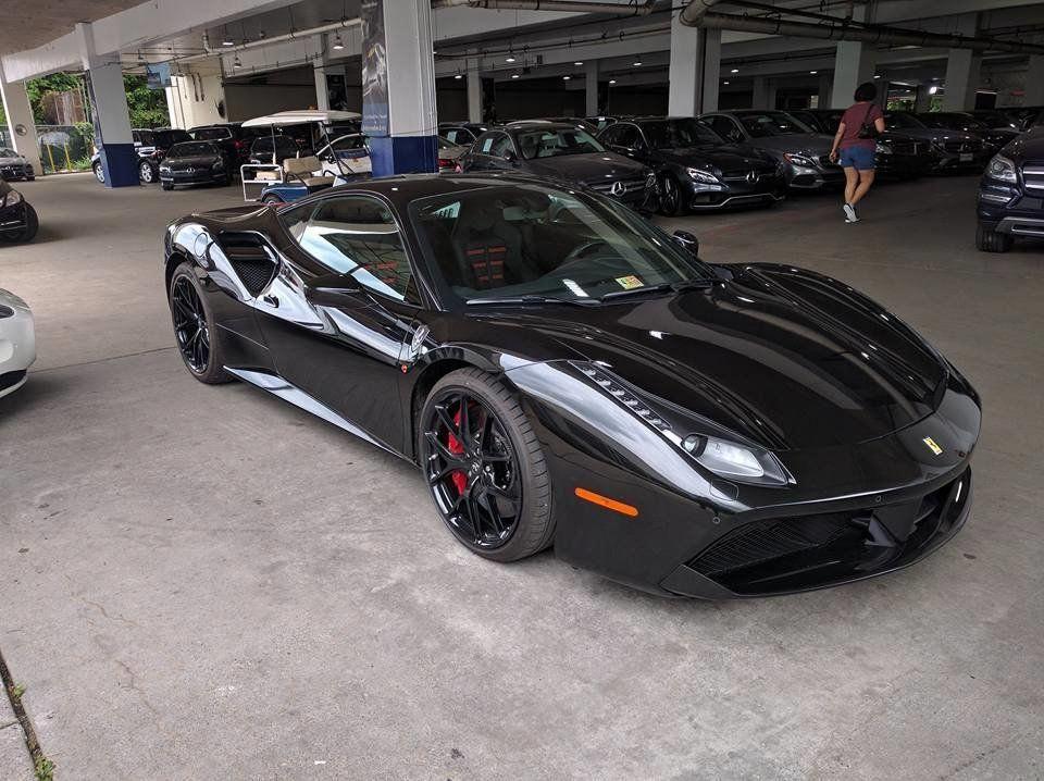 Black On Black Ferrari 488 GTB.