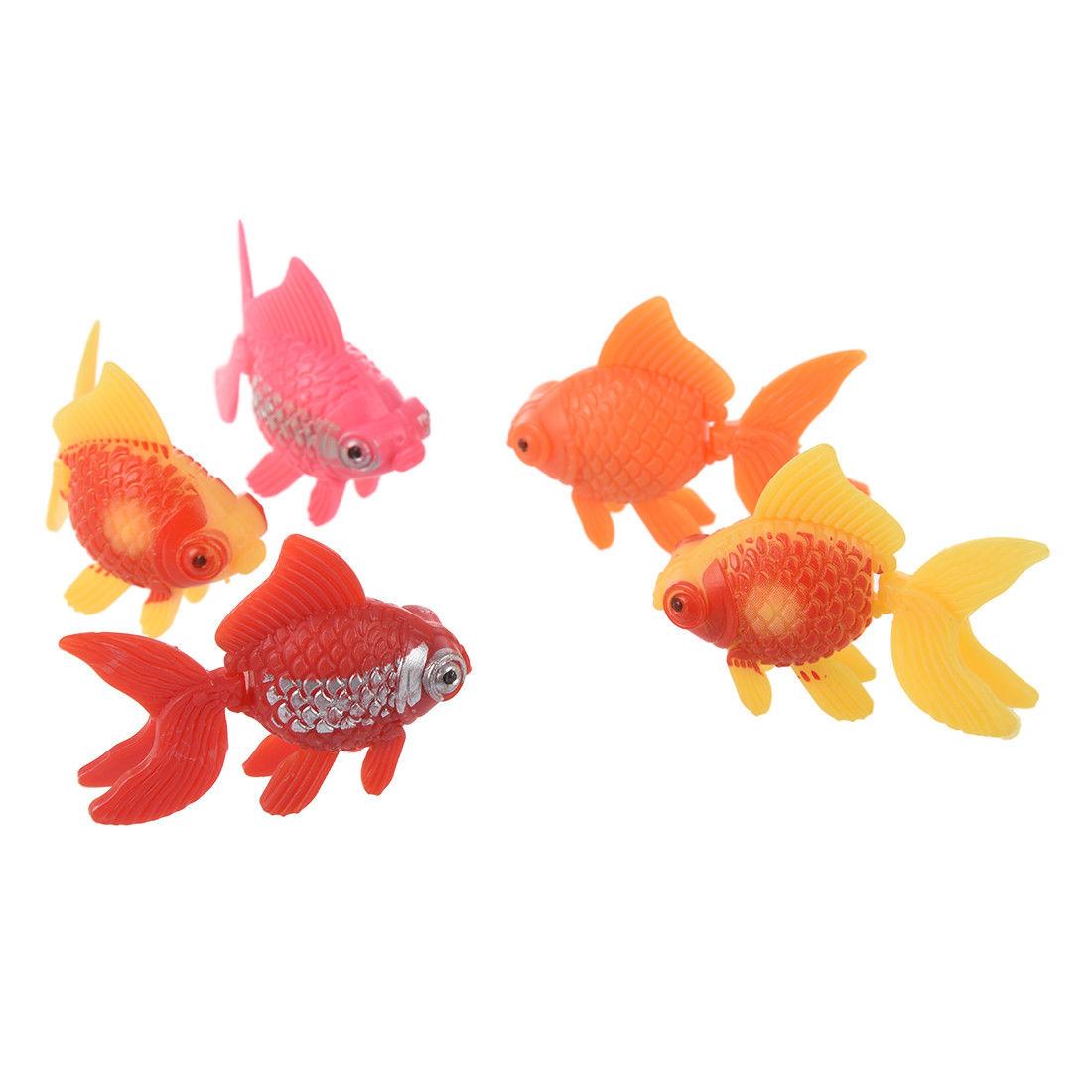 1 65 5pcs Artificial Plastic Ornament Aquarium Fish Goldfish S9d8 Ebay Home Garden Goldfish Aquarium Fish Aquarium