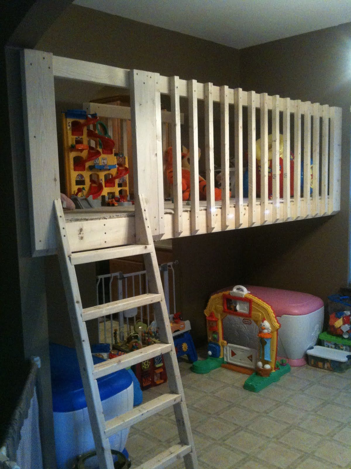 Operation Playroom Loft! Loft playroom, Kids playroom