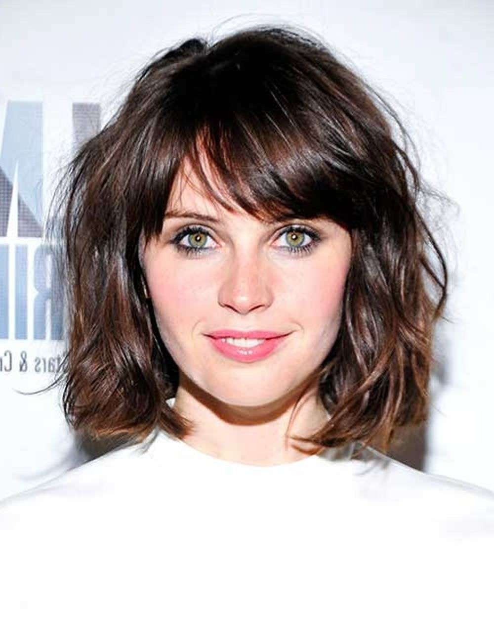 short haircuts with bangs and curly hair curly hairtsyle