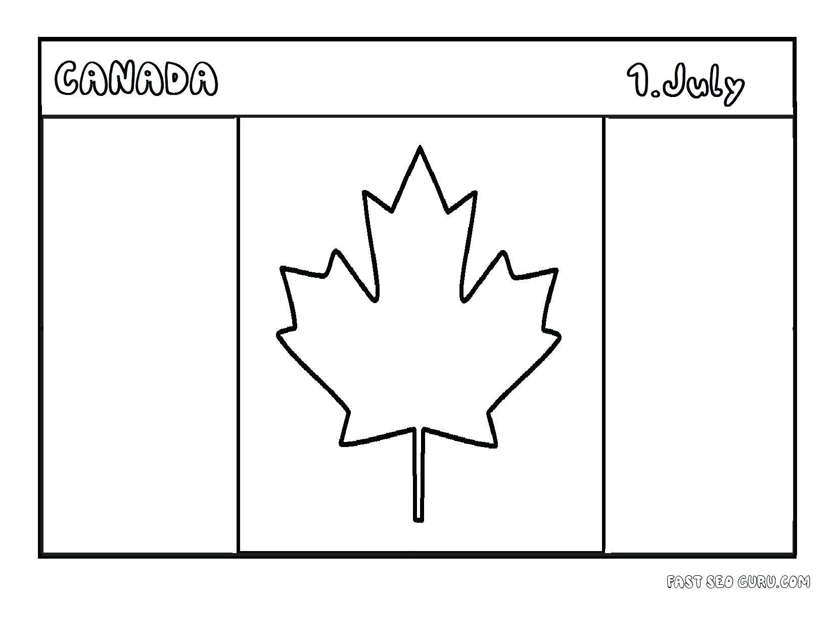 Flag Of Canada Printable Wallpaper Desktop Background