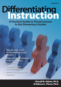 This easy-to-use, teacher-friendly book is a must-have for any educator wanting to differentiate instruction for the gifted or regular classroom.