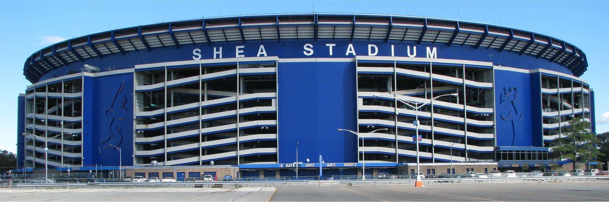 Shea From 2007 After The Decorative Panels Were Taken Down This One S From Wikimedia We Get The Photos Here From A Wide Range Shea Stadium Lets Go Mets Baseball Park