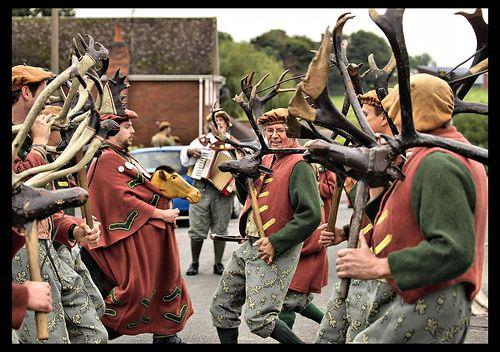 Horn Dance Festival from England.