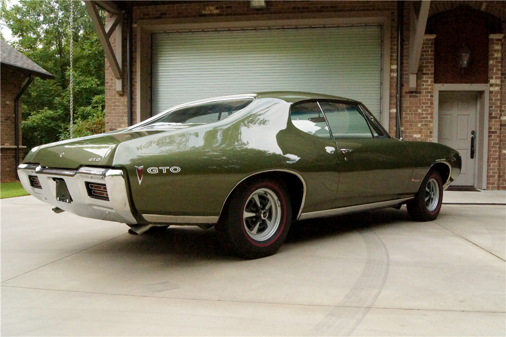 1968 PONTIAC GTO RAM AIR II