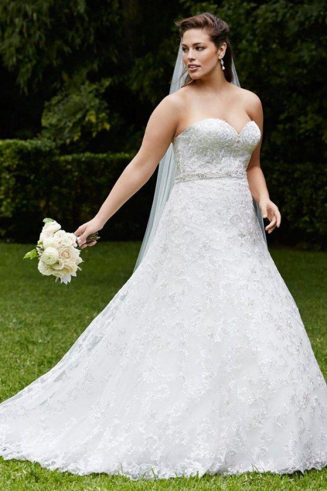 Brautkleider für Mollige: DAS sind die schönsten Plus-Size-Kleider ...