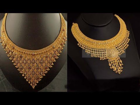 Image Result For Gold Necklace Designs In 16 Grams Gold Necklace Designs Necklace Designs Gold Jewelry Stores