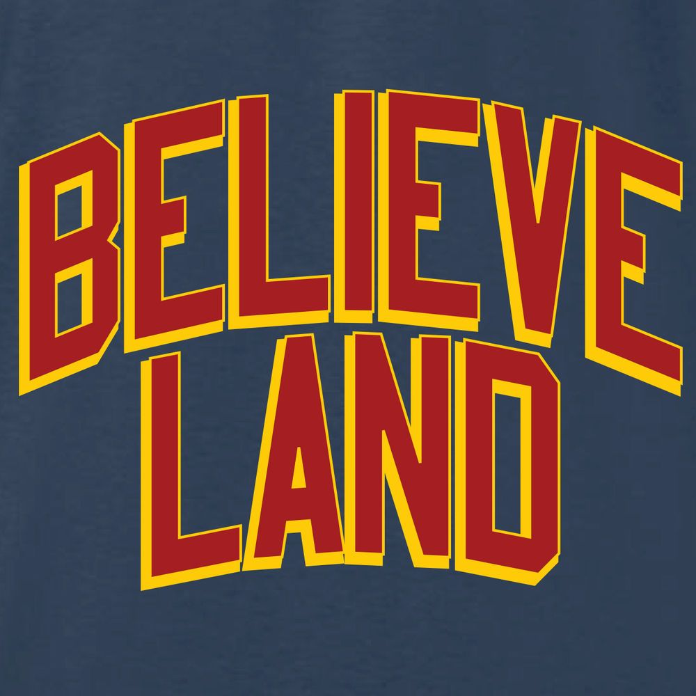 4674b6de41c Cleveland Cavaliers Believeland T-shirt Jersey Funny Lebron James New 2xl  from  5.99
