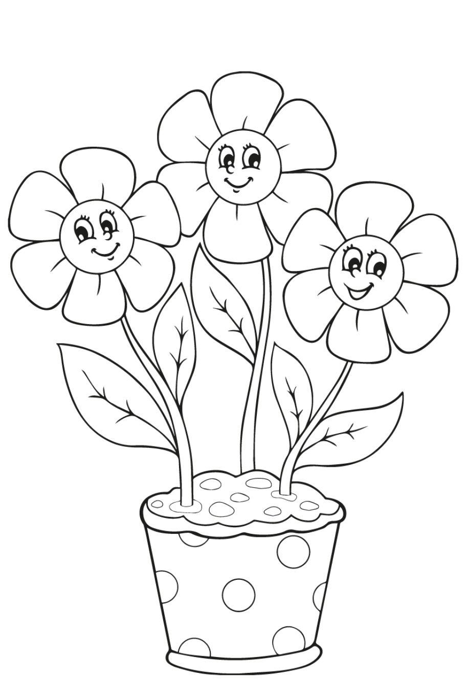 kleurplaat bloemen 26 superleuke gratis kleurplaten