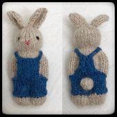 "#bunny #Dahle #denim #dressed #Gudrun #Instagram #Mor #Overalls Gudrun Dahle on Instagram: ""One more bunny dressed in denim overalls.  One more bunny dressed in denim overalls."