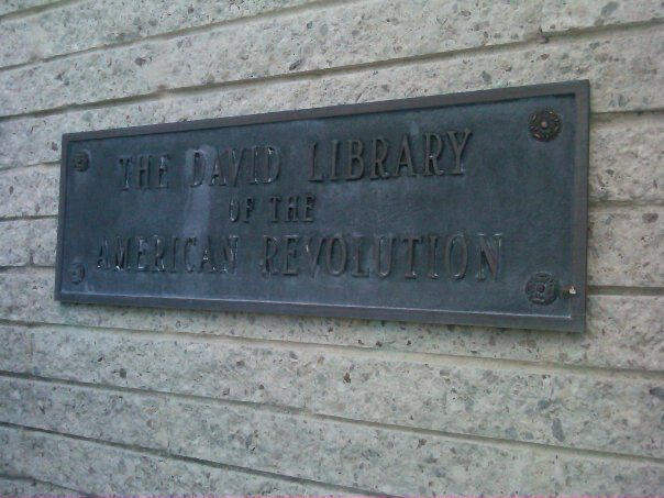 The David Library of the American Revolution~House of History, LLC.