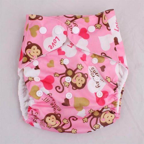 Baby-Newborn-Adjustable-Reusable-Washable-Waterproof-Printing-Cloth-Diaper-Nappy