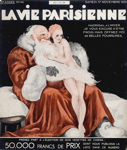 Georges Léonnec (1881 – 1940). La Vie Parisienne, 17 Novembre 1934. [Pinned 23-vii-2015]