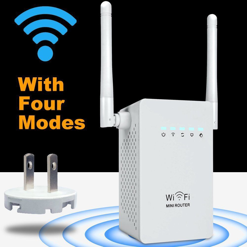 Mini Wi-Fi Range Extender with 4 Modes,wifi Repeater