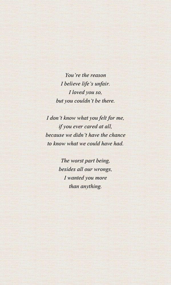 Bad Timing. A poem | Heartbreak poems, Poems, Heartbreak