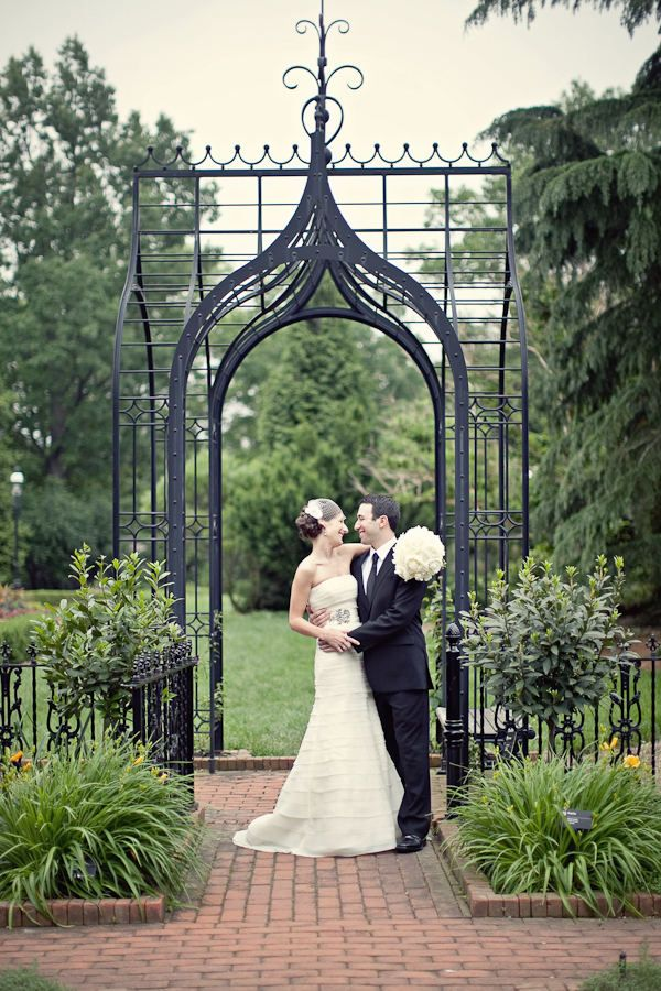 The Missouri Botanical Gardens Wedding By Megan Thiele Studios