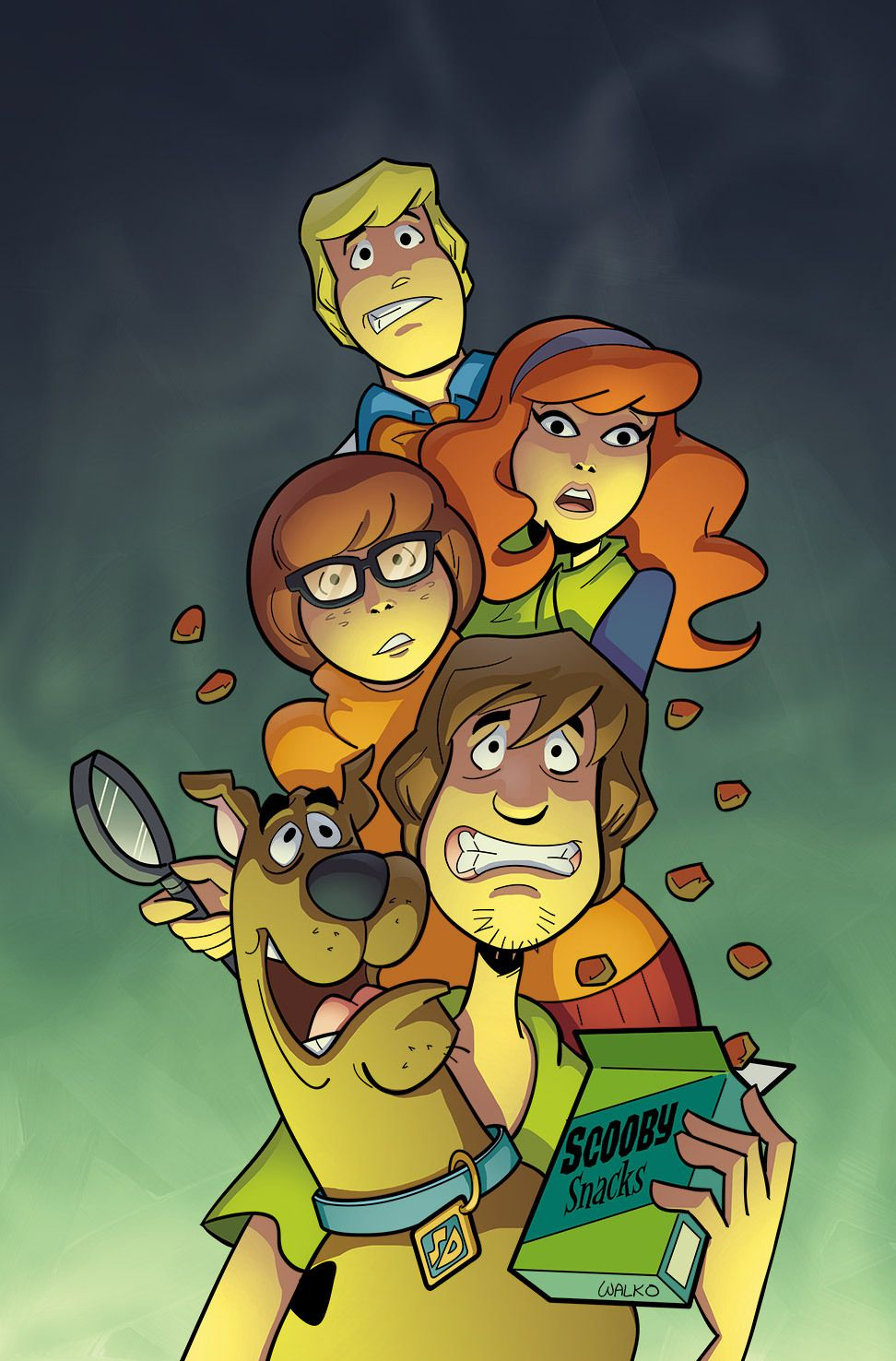 Scooby Doo Vieux dessins animés, Dessin cartoon