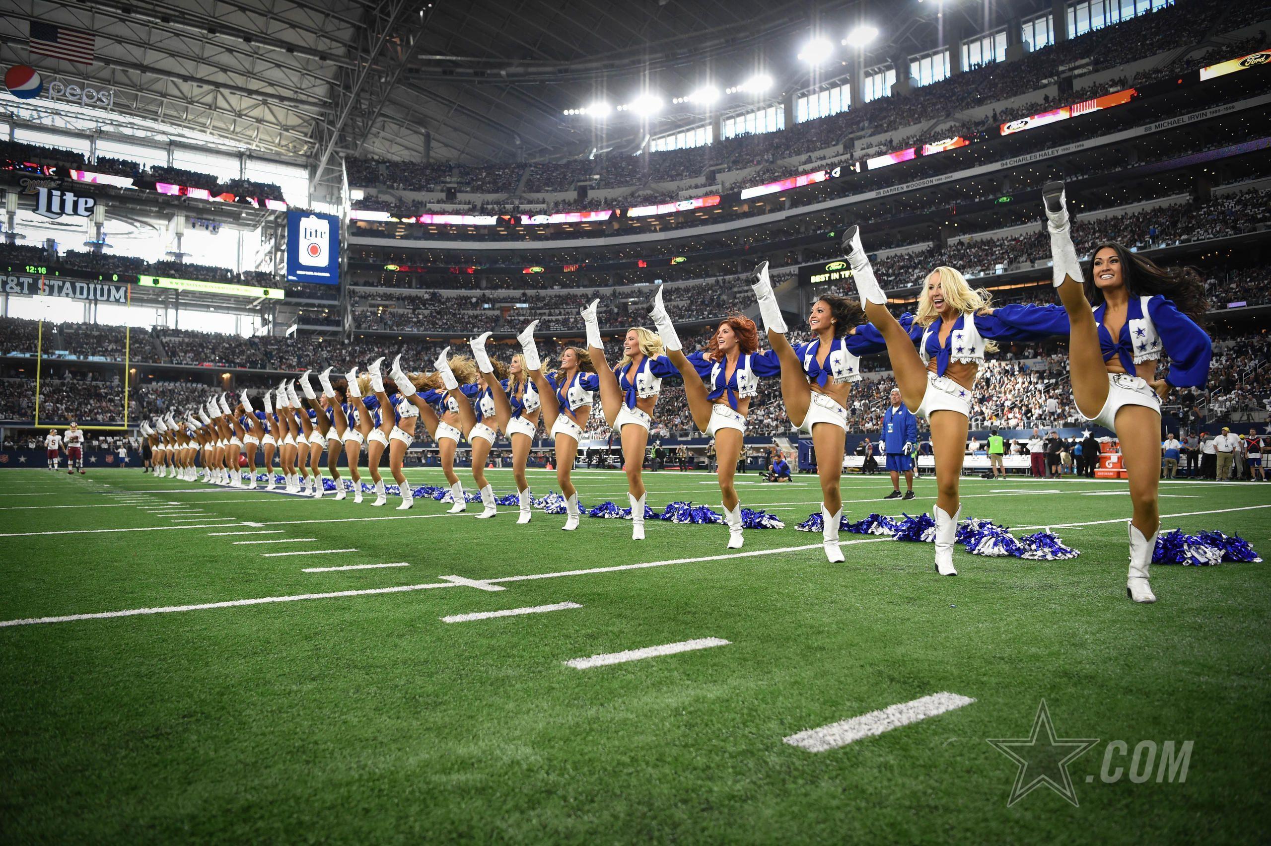 Dcc kickline dallas cowboys cheerleaders nfl