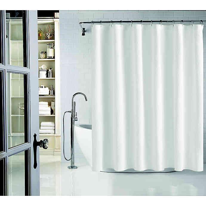 Wamsutta Cotton Shower Curtain In 2020 Modern Shower Modern