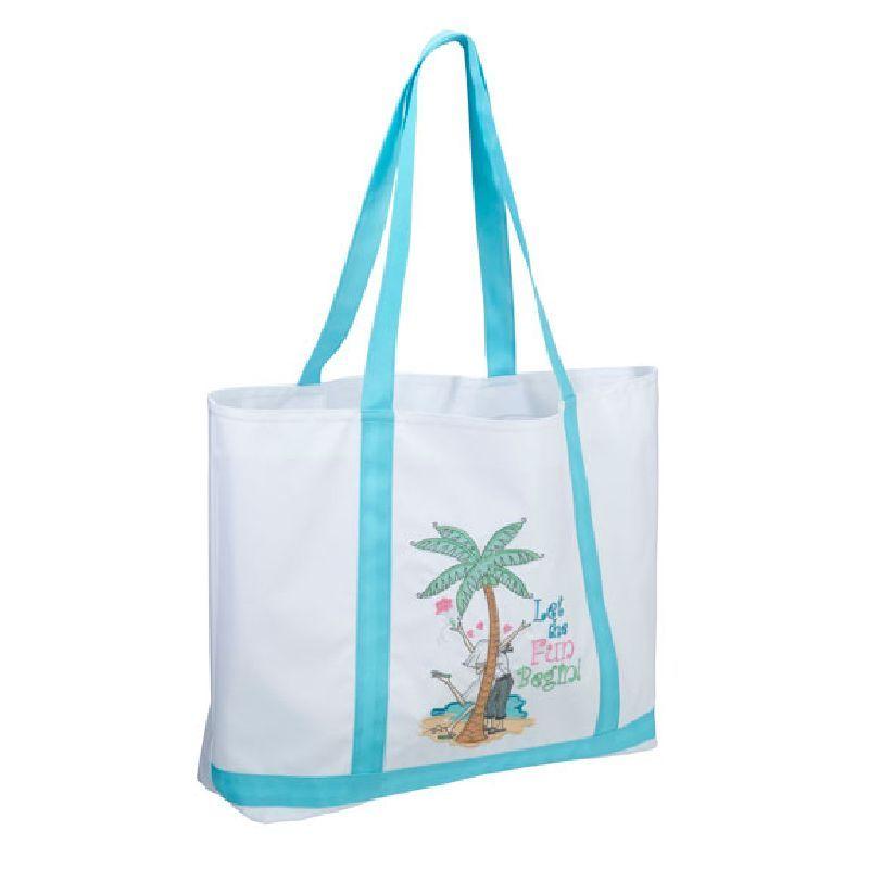 Lillian Rose Let the Fun Begin Beach Bag Tote #beachhoneymoonclothes