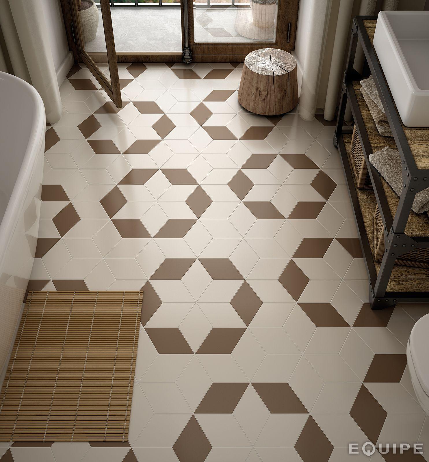 carrelage beige taupe losange cr dence pinterest. Black Bedroom Furniture Sets. Home Design Ideas