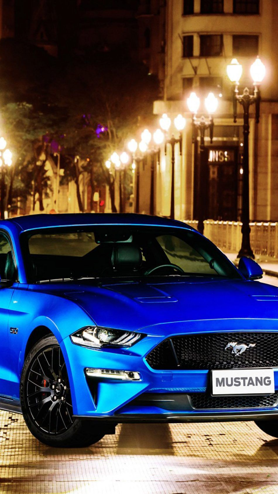 Blue Ford Mustang Gt Fastback Ford Mustang Gt Mustang Ford Mustang