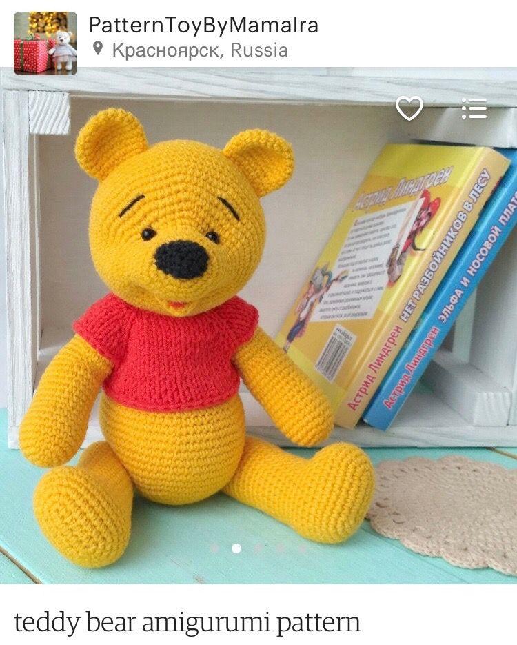 Winnie the Pooh Ayıcığımız | Winnie the pooh, Amigurumi, Bebek ... | 935x750