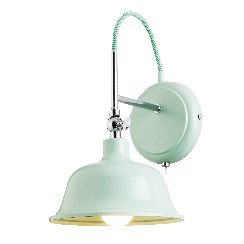 Endon Lighting Laughton 1 Light Semi-Flush Wall Light & Reviews ...