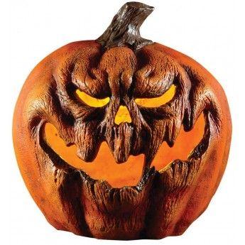 Light Up Evil Pumpkin Prop Halloween Fancy Dress Party Decoration Horror Scary