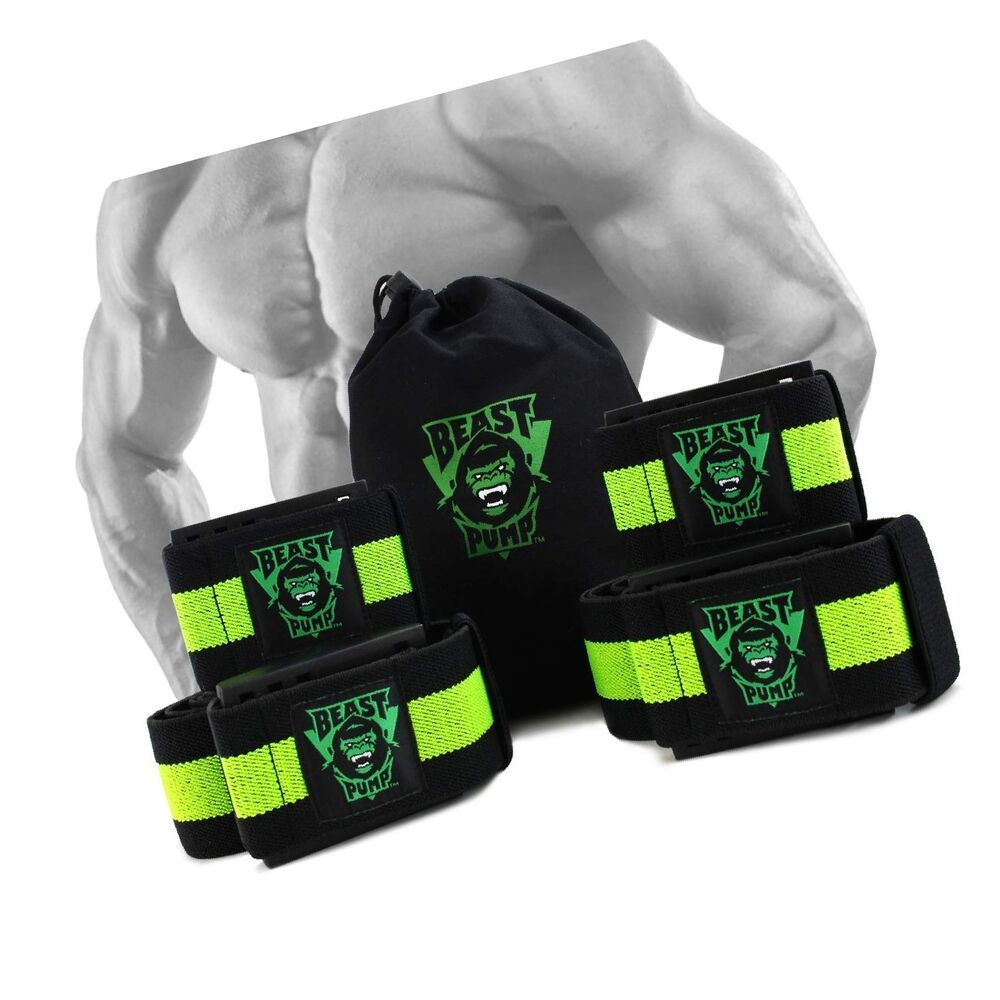 Occlusion training bands blood flow restriction muscle