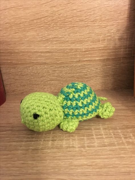 Kleine Schildkröte häkeln! Vorlage war echt Supi :) #häkeln ...