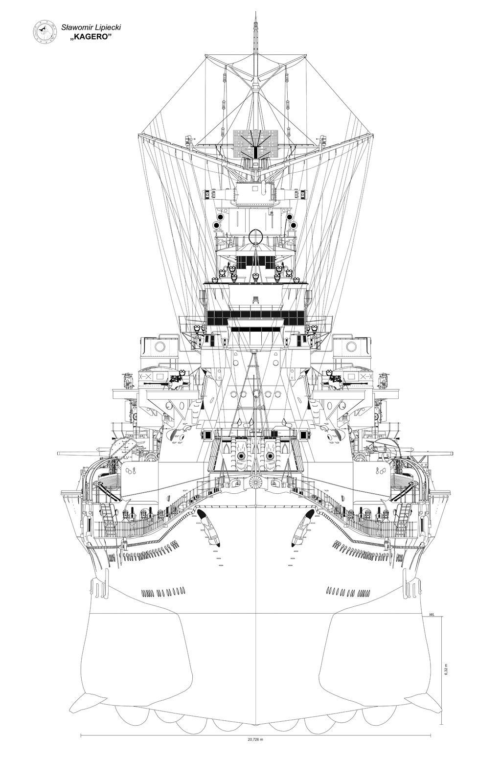 Crucero Takao 1932, visto de proa en 1945 | Military | Pinterest ...