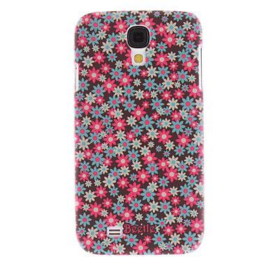 Matte estilo colorido Flores Padrão Durable Hard Case para Samsung i9500 Galaxy S4 – BRL R$ 10,32