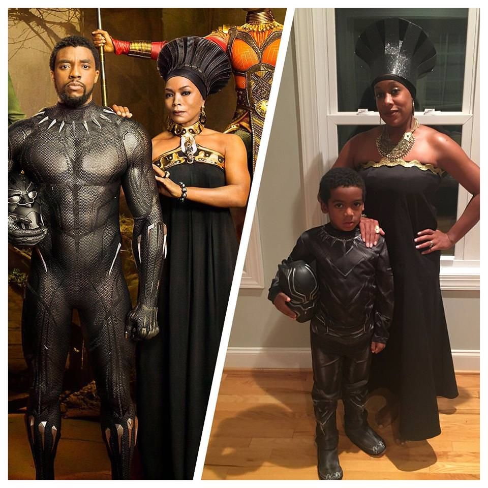 Mother Son Black Panther Halloween Costume Black Panther