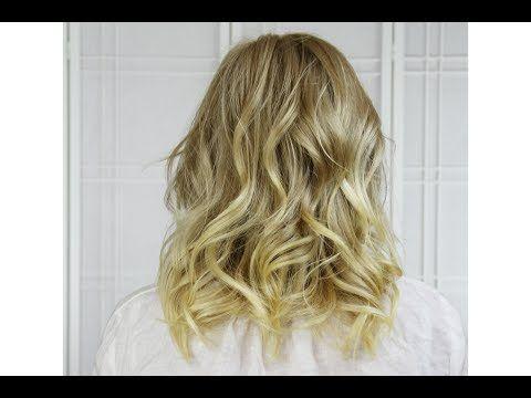 Curl Short To Medium Length Hair With Flat Iron Locken Mittellanges Haar Medium Haare Haar Styling