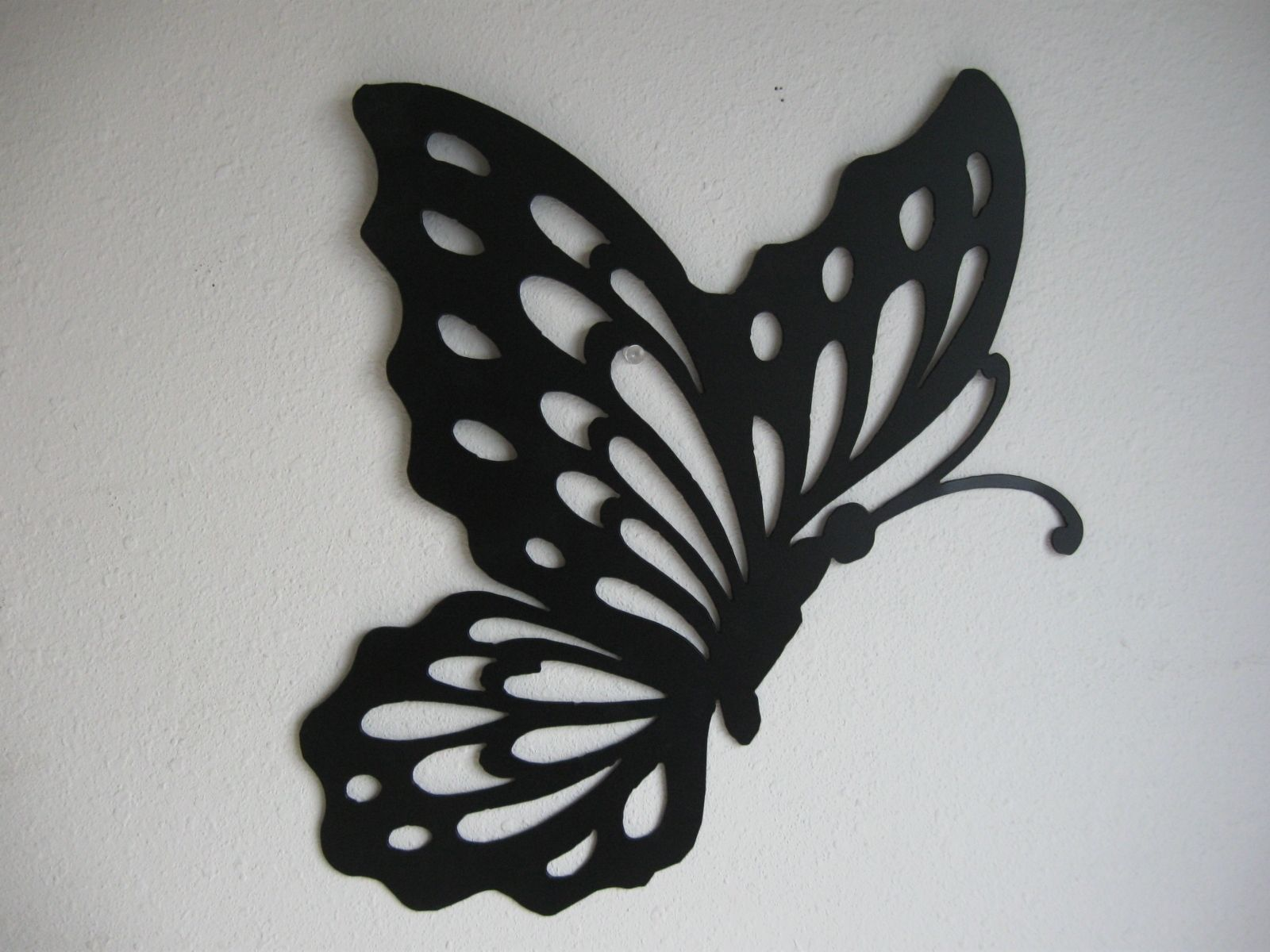 Hand Crafted Butterfly Metal Wall Decoration by Just 4 the Art of ...