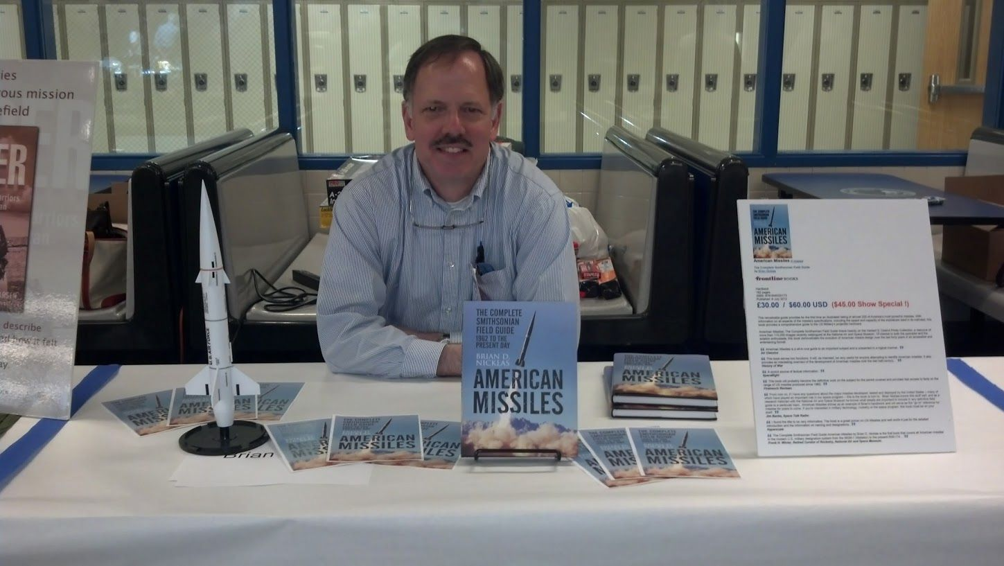 Brian d nicklas author of american missiles the